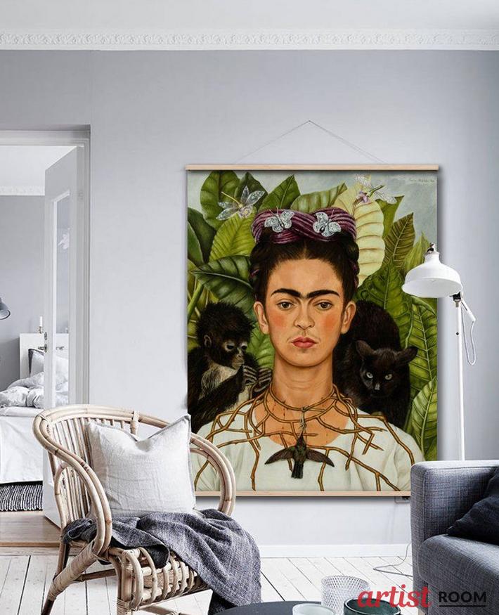 Frida Kahlo Dekoracje Wnętrz 100 X 130 Artist Room