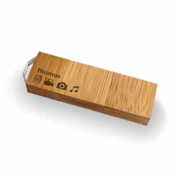 ECO pendrive z grawerem | Bamboo 8GB USB 3.0