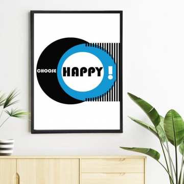 Plakat Choose Happy