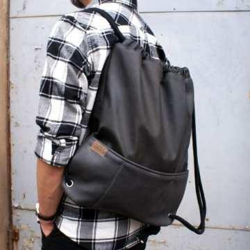 10a1dcde2ae1f Ręcznie szyte plecaki workowe | worki podróżne handmade - Artist Room