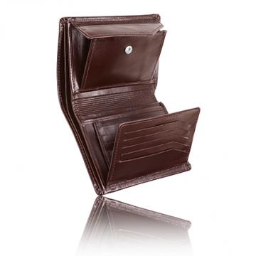 8dcdc26174106 Męski portfel skórzany brązowy | Artist Room